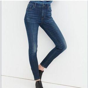Lucky Brand Bridgette High Rise Skinny Jeans